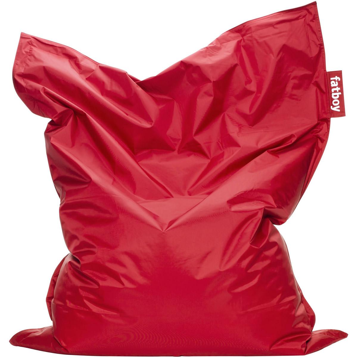 fatboy the original rot bei sitzsack ch kaufen. Black Bedroom Furniture Sets. Home Design Ideas
